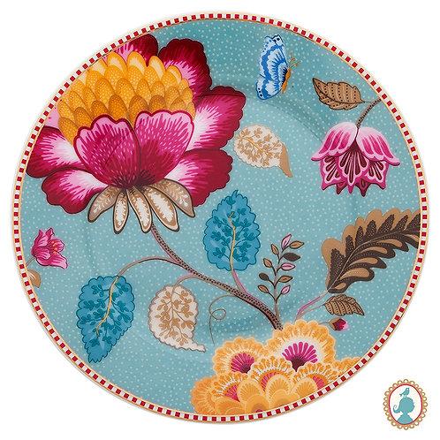 Set/2 Pratos de Pão Azul – Floral Fantasy – PiP Studio®