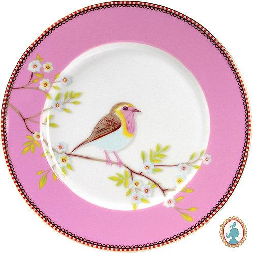 Prato de Sobremesa Early Bird Rosa – PiP Studio®
