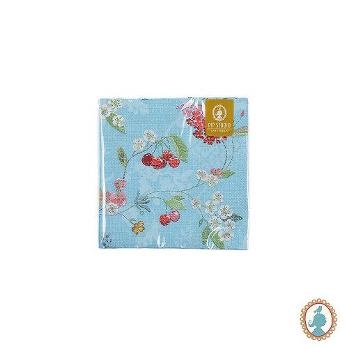 Guardanapo Hummingbirds Azul 20 Unidades - Floral - Pip Studio