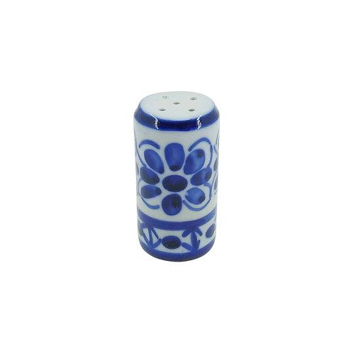 Saleiro em Porcelana Azul Colonial