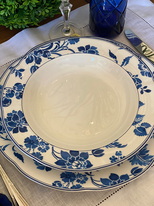 Prato fundo Porcelana Royal Asian Blue
