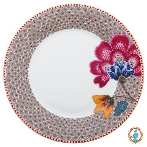 Prato de Sobremesa Cáqui – Floral Fantasy – PiP Studio®