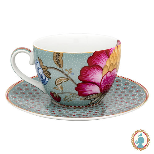 Xícara De Chá Azul - Floral Fantasy - Pip Studio