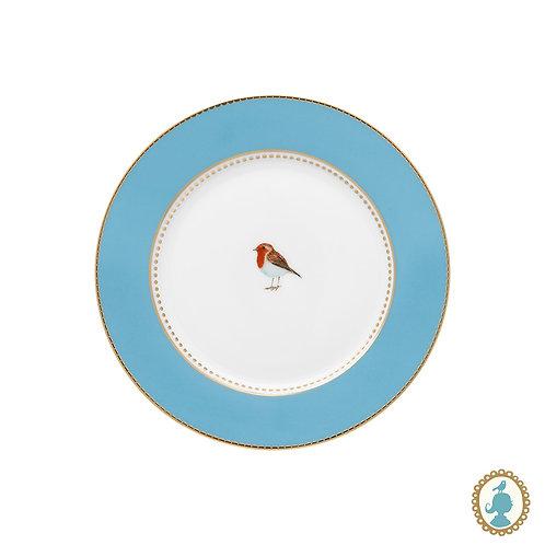 Prato de Pão Azul - Love Birds - Pip Studio