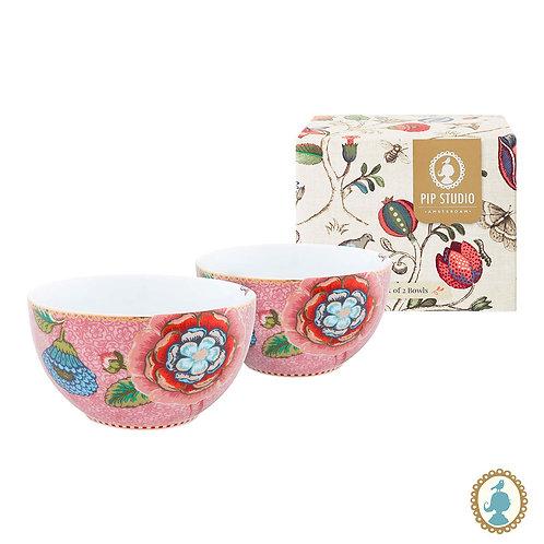 Set/2 Tigela 12 Rosa – Spring to Life – PiP Studio®