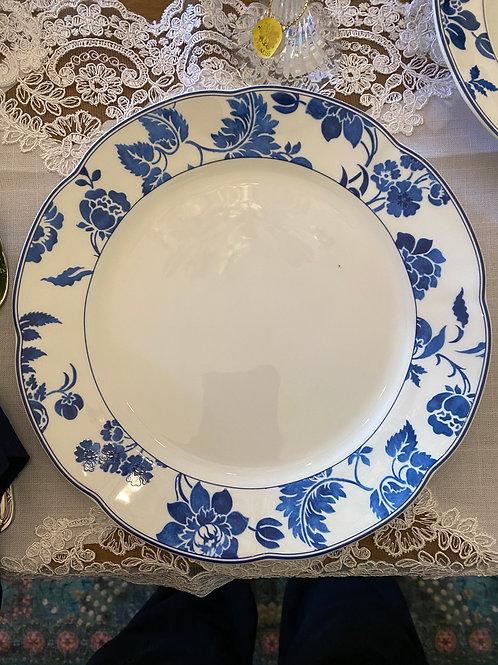 Prato raso porcelana Royal Asian Blue