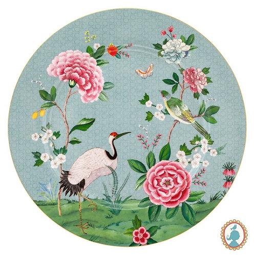 Prato Sousplat Azul - Blushing Birds - Pip Studio
