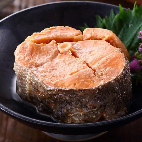 マルヤ水産 南三陸産 銀鮭の醤油煮 缶詰