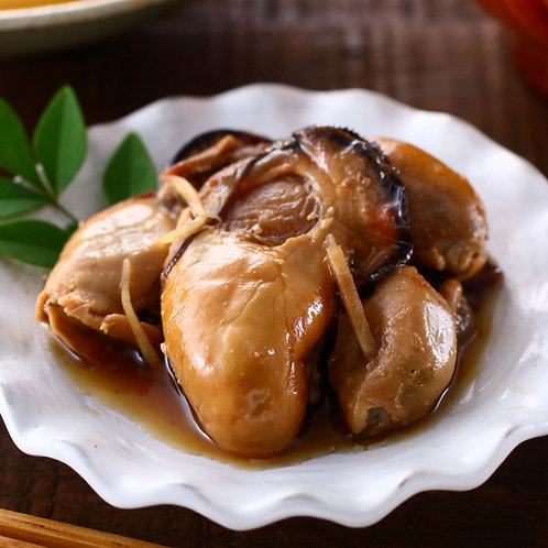 Maruya Canned Boiled Oyster with Soy Sauce & Ginger