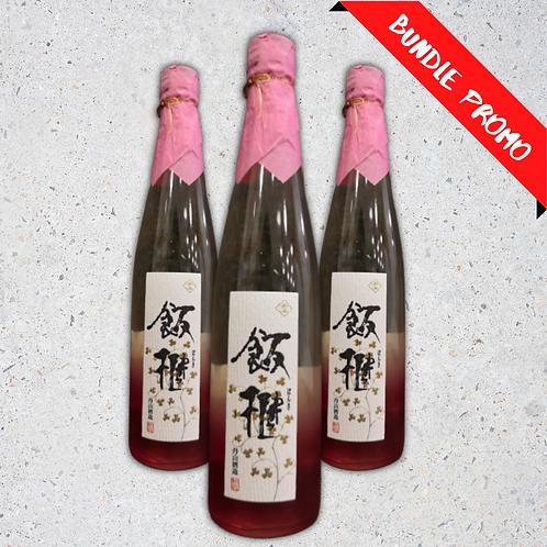 【Bundle Set】Tanzan Bonki Junmai Sake (500 ml)