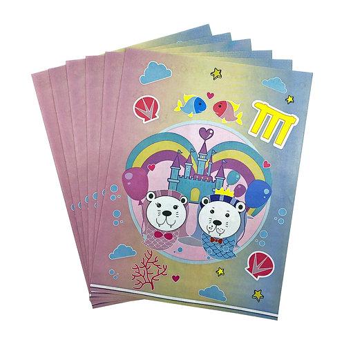 Merlion Comic Gift Bag 6 pcs (I-Zakka)