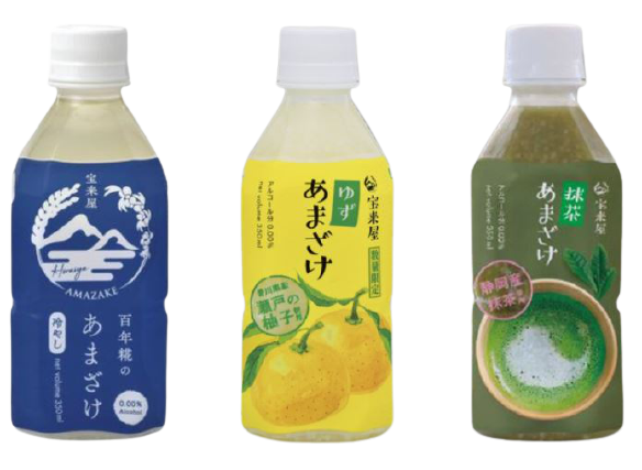 Horaiya Amazake (3 Flavours)