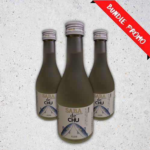 【バンドルセット】Saba de Chu Sake (300 ml)
