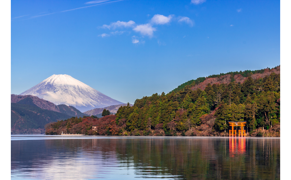 Lake Ashi, Hakone Shrine
