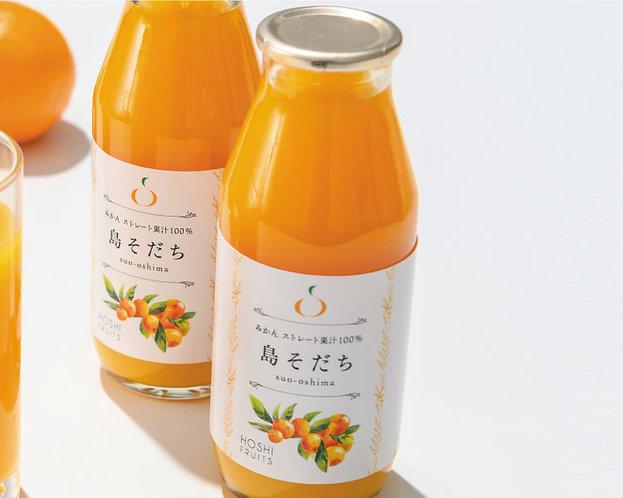 ホシフルーツ プレミアムみかんジュース (180 ml)