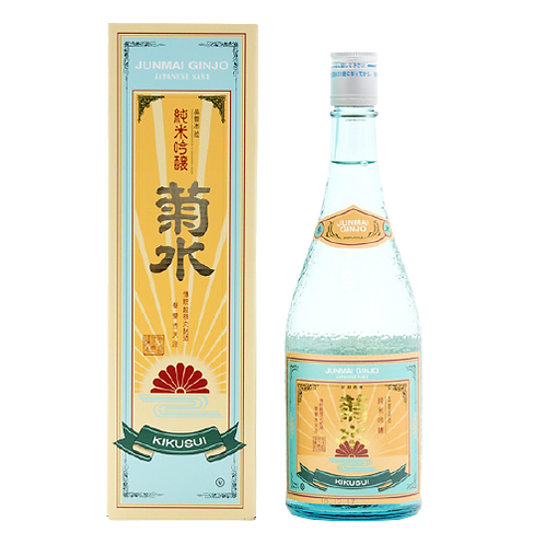 Kikusui Junmai Ginjo Sake (720ml)