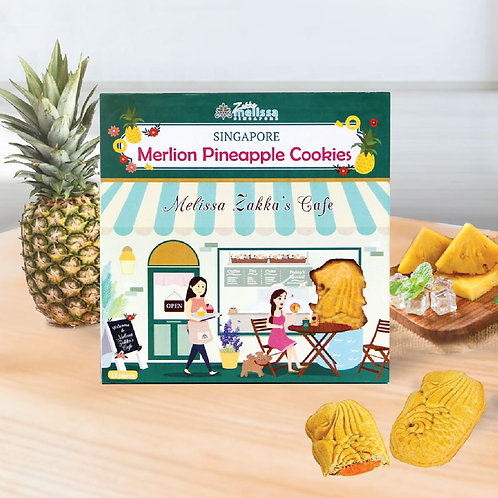 メリッサ雑貨 マーライオンパイナップルクッキー