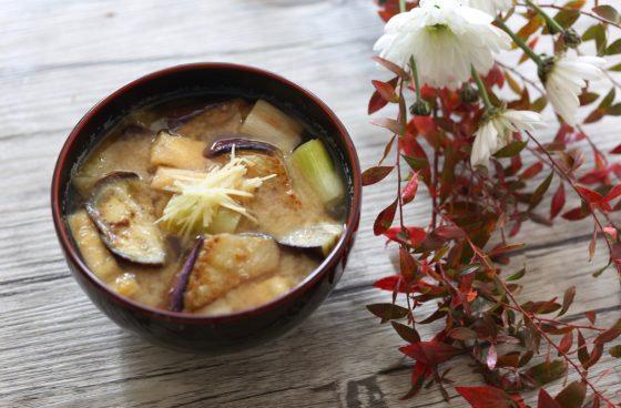 Freeze Dried Miso Soup - Wheat Miso & Fried Eggplant Flavour (98 g x 5 pks)