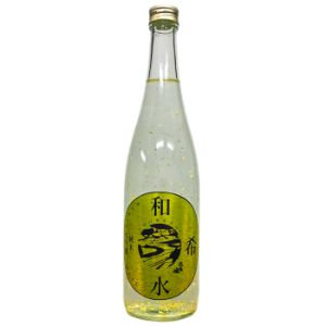 Wakimizu Junmai Daiginjo Sake Gold Flakes (720 ml)