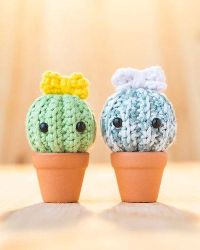 Thorny Cactus Amigurumi Pattern & Kit (Tiny Rabbit Hole)