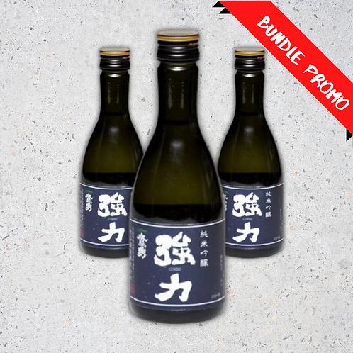 【Bundle Set】Takaisami Goriki Junmai Ginjo Sake  (300 ml)
