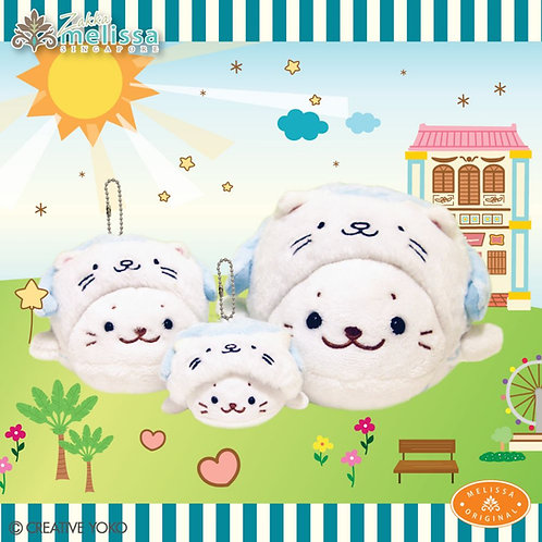 Shirotan x Merlion Soft Toy (Melissa zakka)