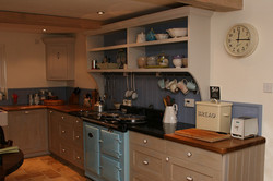 Special Painted Kitchen Design