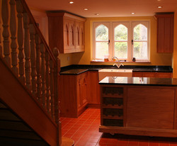 Gothic Oak Kitchen doors