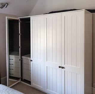 Bespoke Bedroom Solid Oak Wardrobe