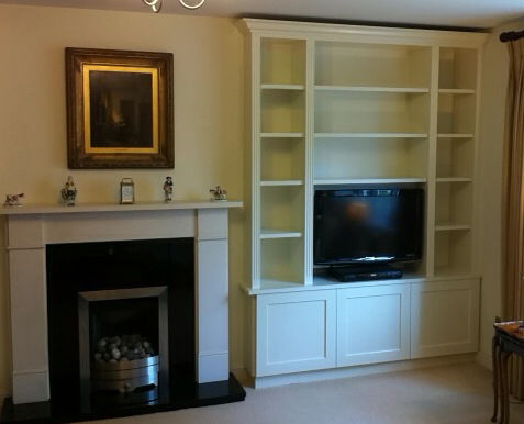Bespoke Bookcases Hampshire