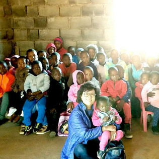 Sung & children in church