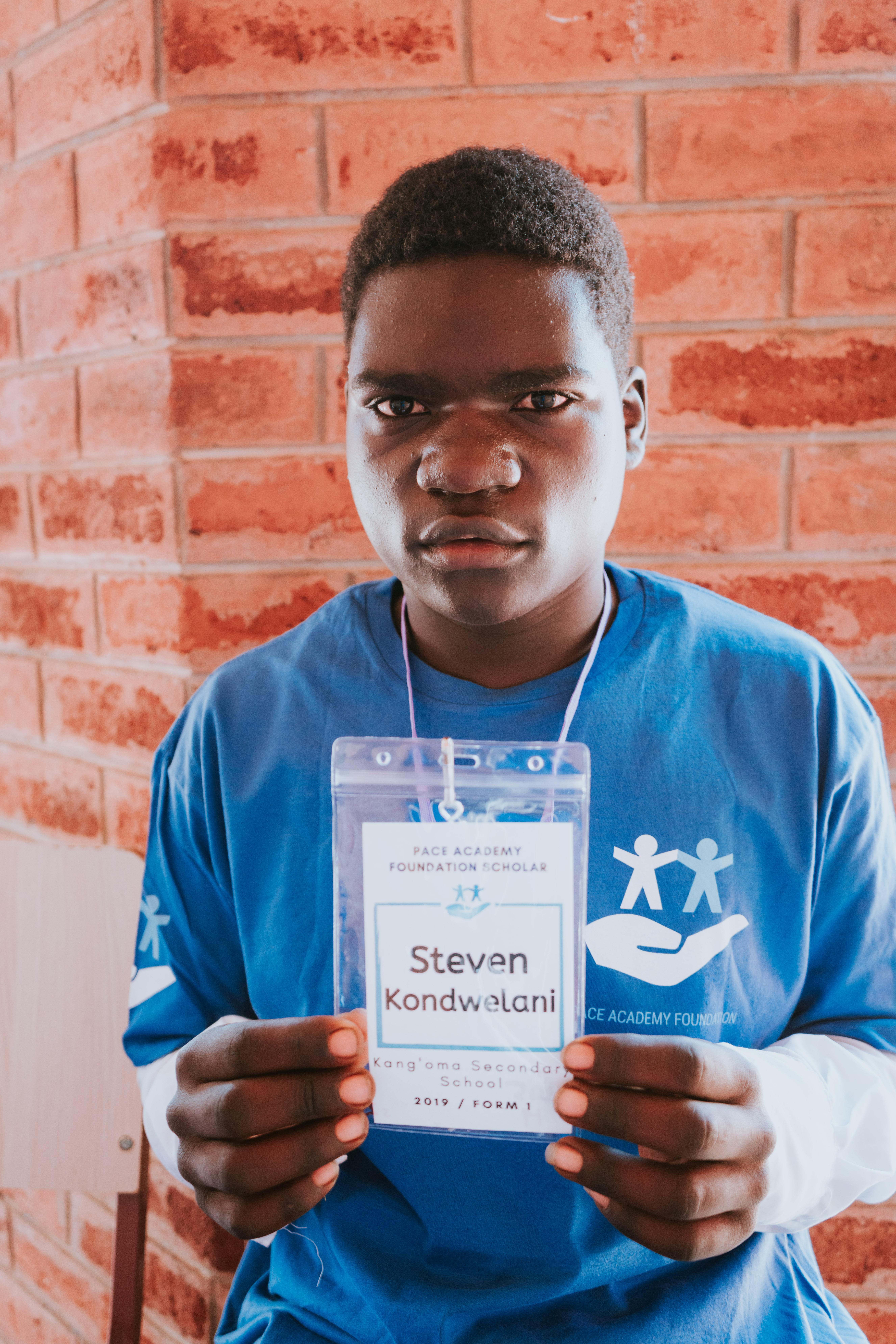 Steven Kondwelani (Kang'oma Secondary Sc