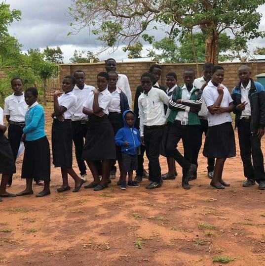 Students of the scholarship program