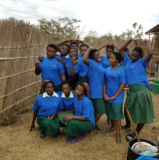 Beautiful students of Dzuwa