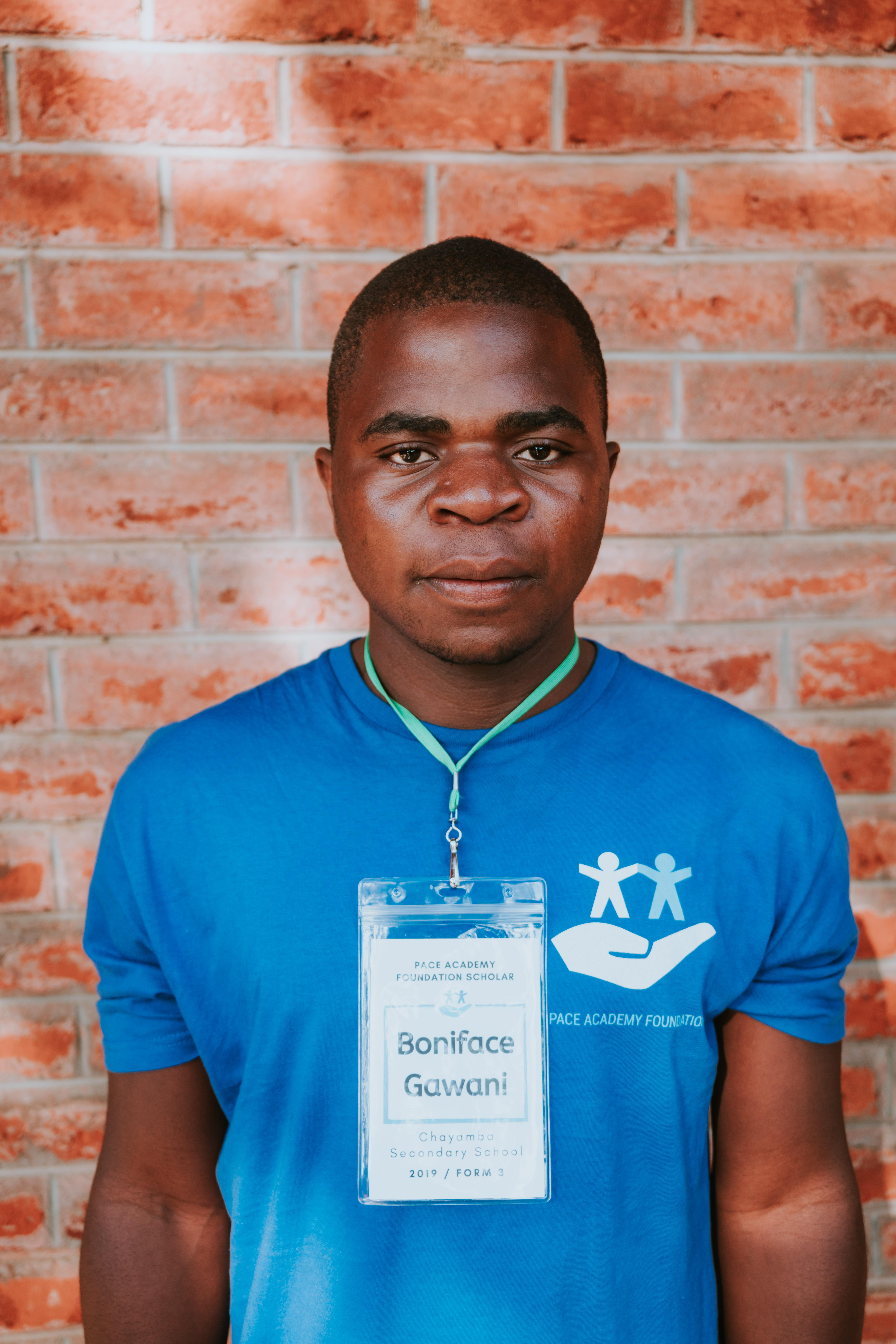 Boniface Gawani (Chayamba Secondary Scho