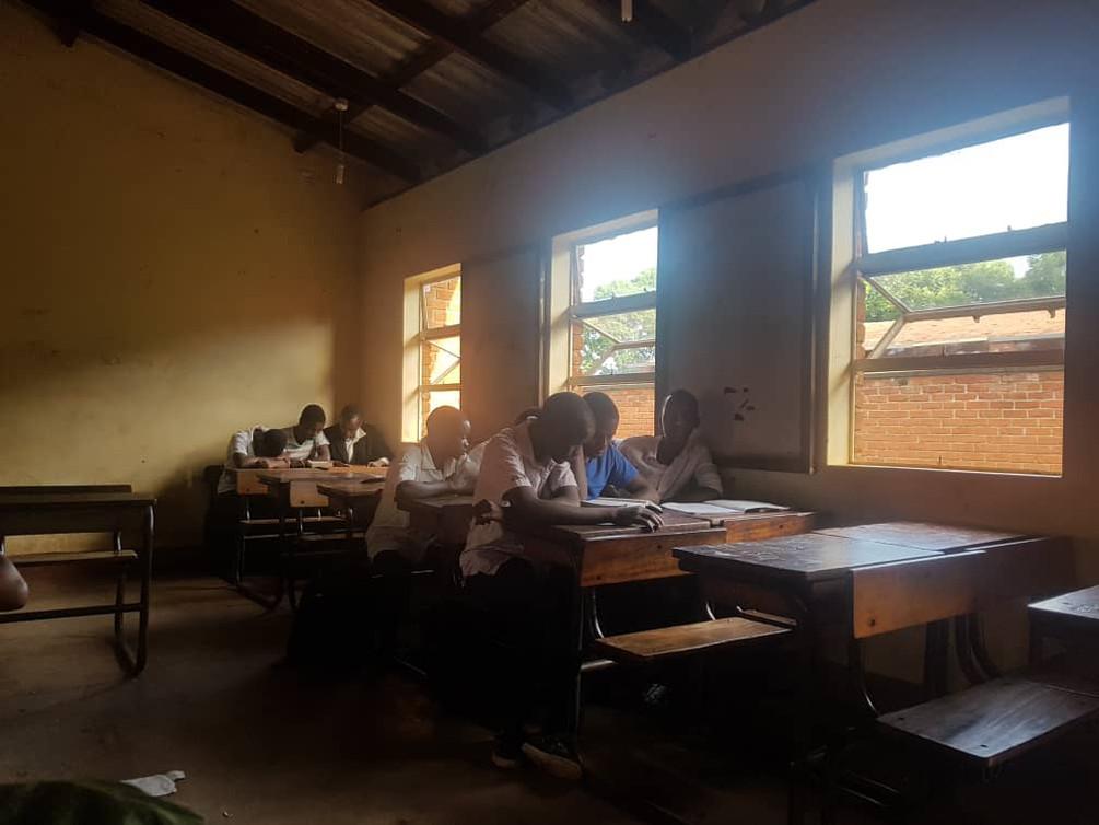 Dzenza school (during)