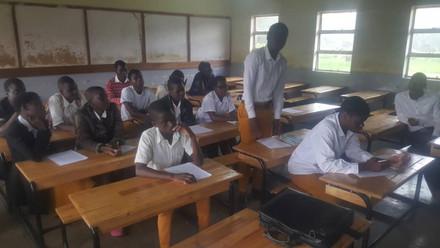 Mchinji Secondary school (during)