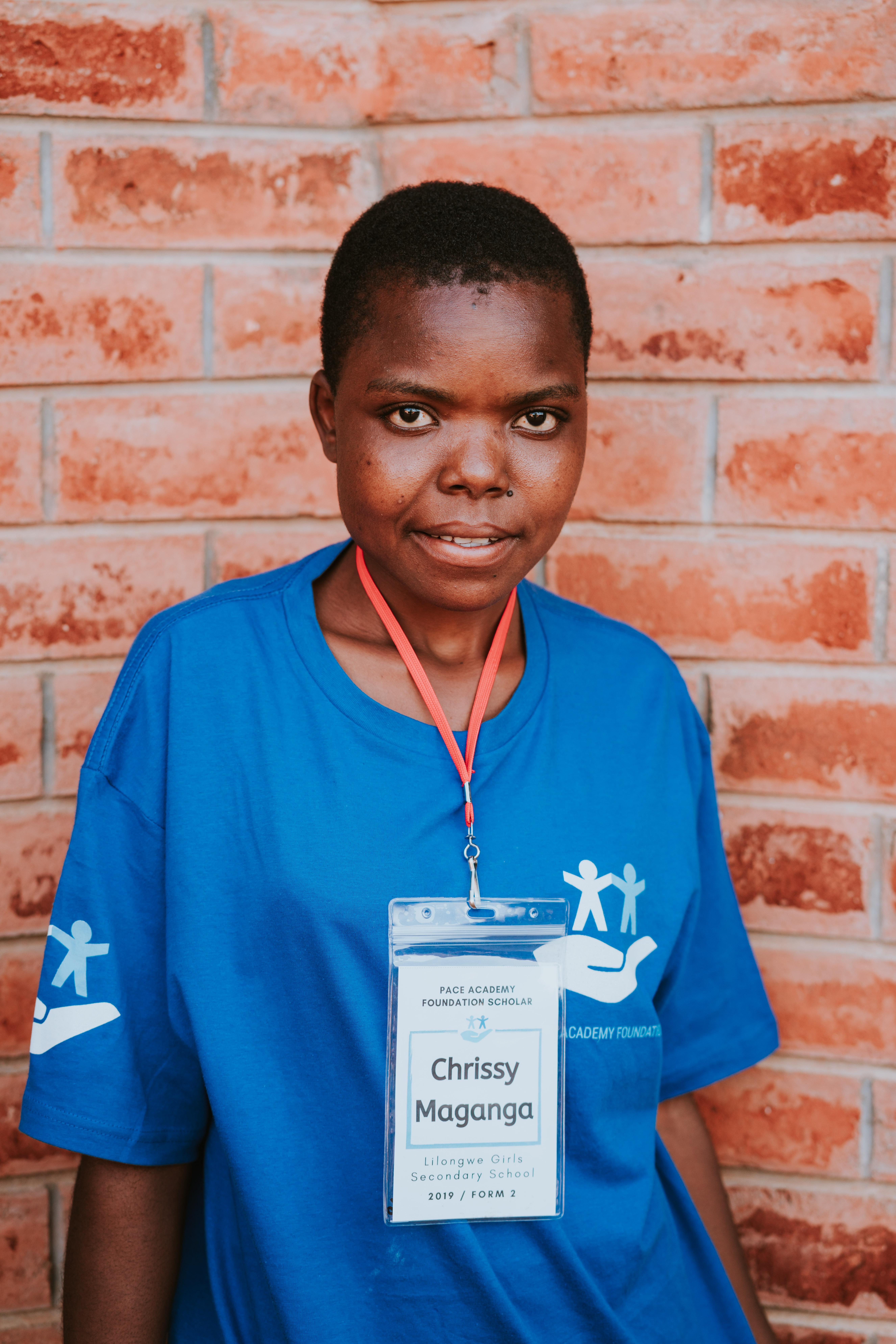 Chrissy Maganga (Lilongwe Girls Secondar