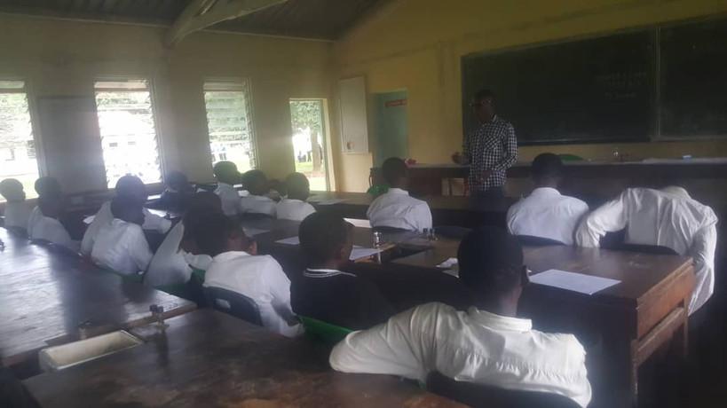 Magawa Secondary School (during)
