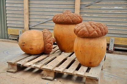 acorn sculpture