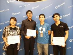 งานประกาศผลและรับรางวัลกิจกรรม Tasaki Mascot Contest ณ บ.ทาซากิ