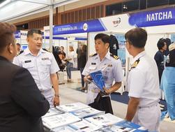 """ทาซากิ เข้าร่วมจัดแสดงนิทรรศการเทคโนโลยีเรือในทศวรรษหน้า """"Ship Tech IV Exhibition"""""""