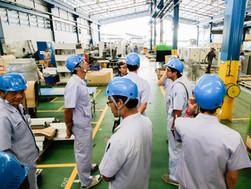 Mitsubishi มาขอดู 5ส ที่โรงงาน Tasaki