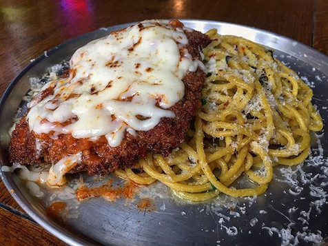 Weekend Special! Chicken Parmesan_ Crisp