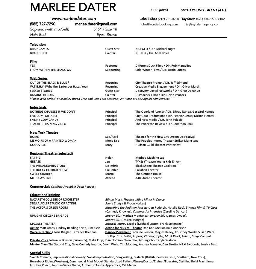 MarleeDaterResumeScreenshot.png