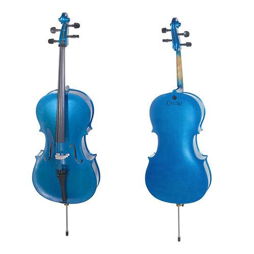 Cello Cecilio / Estudiante color azul