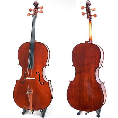 Cello Cecilio hecho a mano de madera solidad