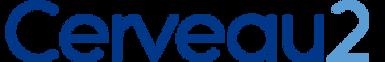 Logo Cerveau 2 - Nom Couleur - Fond blan