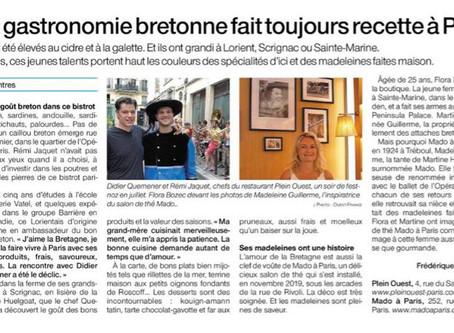La gastronomie bretonne fait toujours recette à Paris