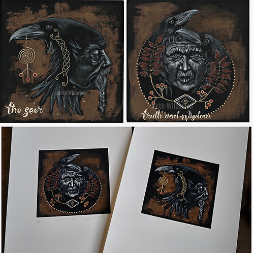 The Seer and Truth and Wisdom Giclee Prints